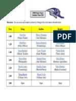 DPHS Senior Project Schedule - Winter 2015