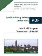 Audit on Medicaid Rebate Program