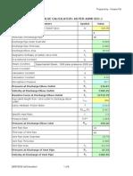 Relief Valve Load Calculation