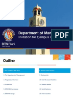 Corporate Invite BITS Pilani MBA Programme
