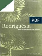 Rodriguésia - Revista JBRJ