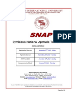 SNAP 2013 Bulletin Highlights