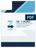 Z-Degree Report | 2015 | Tidewater Community College