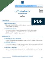 « Trois chats », Anne Brouillard - Séquence pédagogique cycles 1, 2 et 3