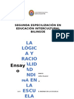 La Lógica y Racionalidad Andina en La Escuela