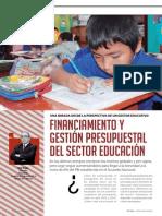 Financiamiento y Presupuesto Educativo