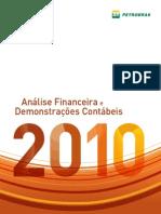 Petrobrás Análise Financeira e Demonstrações Contábeis 2010 Português