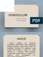 ppt HORDEOLUM