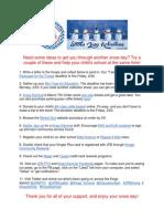JFB PTO Snow Day Ideas