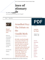 Arundhati Roy_ the Debate on the Gandhi Myth _ Frontlines of Revolutionary Struggle