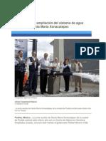 17-02-2015 Periódico Digital.mx - RMV Inaugura Ampliación Del Sistema de Agua Potable de Santa María Xonacatepec