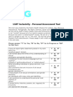 personal assessment tool