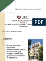 Instalaciones Sanitarias en Edificios Altos tipos y alcances