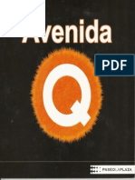 Avenida Q Argentina Playbill