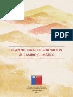 Libro Plan Nacional de Adaptación Al Cambio Climatico