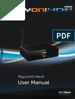 English PV73920 Manual
