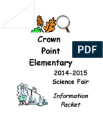 science fair booklet 2014-2015