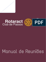 Manual de Reuniões - Rotaract Club de Passos
