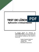 Manual Test de Luscher I