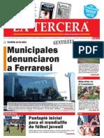 Diario La Tercera 18.02.2015