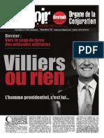 """le Lys Noir pour le """"coup de force avec Philippe de Villiers, comme disait Charles Maurras"""