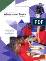 2013-2014 Advancement Review