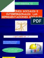 Relaciones Sociales e Interpersonales