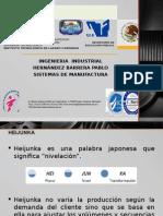 SISTEMAS DE MANUFACTURA (HEIJUNKA)