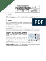 Manual Electrocauterio