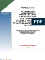 guia clinica VIh personas y tratamiento