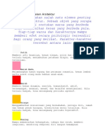 Psikologi Warna Dalam Arsitektur