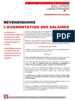 Tract Augmentation Salaires