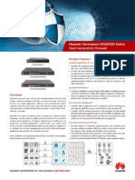 HUAWEI USG6300 Series Next-Generation Firewall Brochure