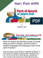 Lec 1 Parts of Speech