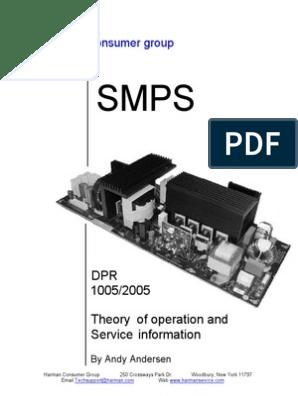 Harman-Kardon-AV-SMPS pdf | Power Supply | Printed Circuit Board