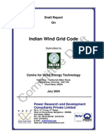 Wind Grid Code for India DRAFT