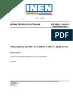 Requisitos para neumaticos - INEM