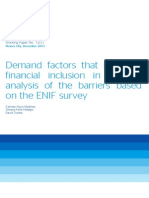 Demand Factors That Influence Fin Inclusion