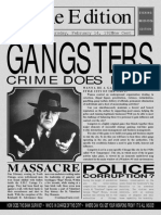 Gangsters Manual 1st Page