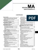 Manual de mantenimiento Nissan Tiida