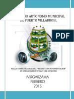 Malla Curricular Nivel Secundario 2015 Para Presentar