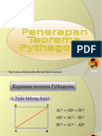 Penggunaan Teorema Pythagoras