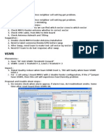 Summary Typical Tshoot Problem_VSWR & Crossfeeder