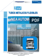 Catalogo de Mangueras Metalicas Flexibles TMF