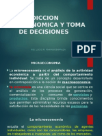 1. Prediccion Economica y Toma de Decisiones