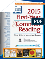 Random House Academic First-Year and Common Reading 2015