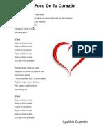 Un Poco De Tu Corazón.docx