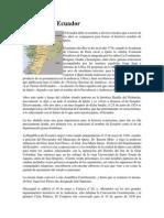 Historia Del Ecaudor
