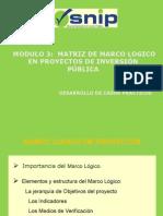 Elaboracion de Marco Logico Proyecto Social