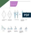 Origami Pelican Print